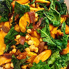 Chorizo, Kale, Sweet Potato and Chickpea