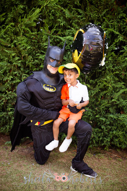 Batman and friend
