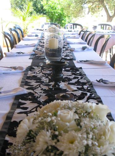 Stylish table setting