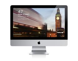 Website for 47 Park Street in Mayfair London