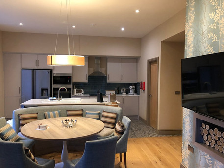 Open plan living at Whitbarrow Holiday Village