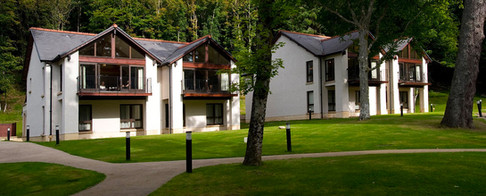 Dunkeld Lodges surrounded by nature