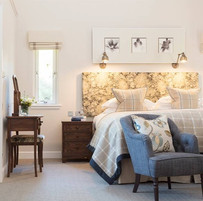 Spacious Glenmor Lodge bedroom