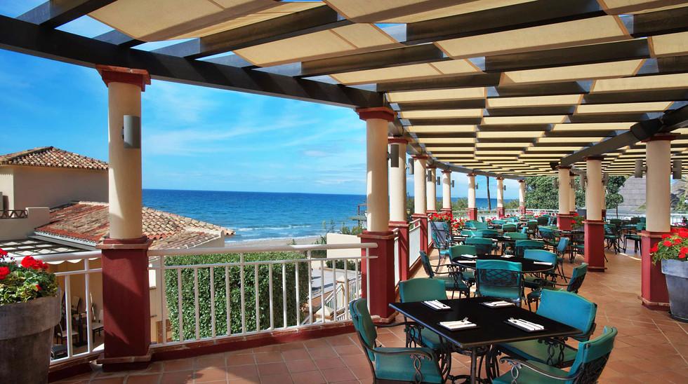 Marriotts Marbella restaurant terrace.jp