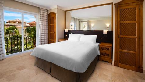 Spacious bedrooms at Marblla Beach Resort