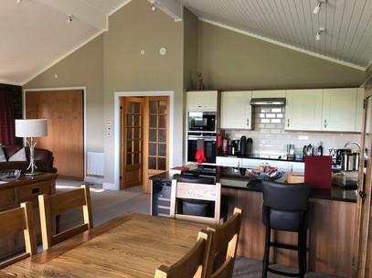Kitchen diner at Belton Woods Lodges