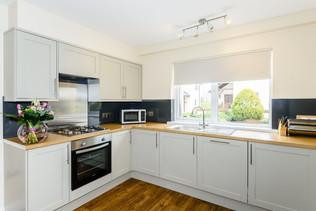 Modern kitchen at Whitbarrow Holiday Village