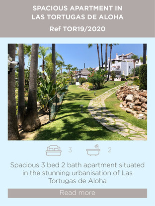 Apartment for sale in Las Tortugas de Aloha