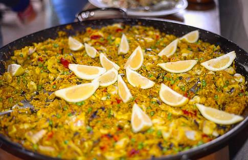 Traditiona paella