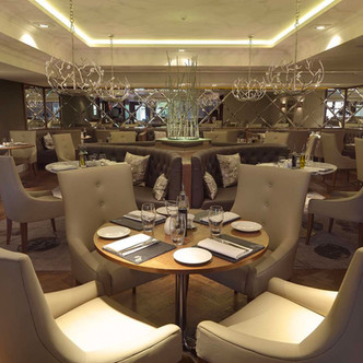 Modern, stylish restaurant at Craigendarroch