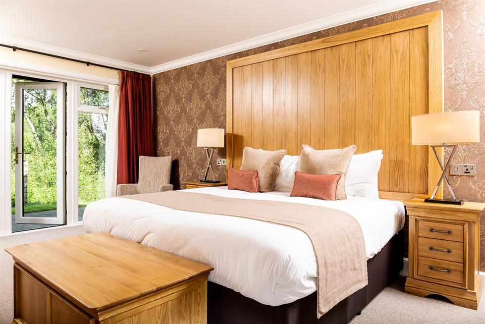 Impressive designer bedroom at Cameron Club