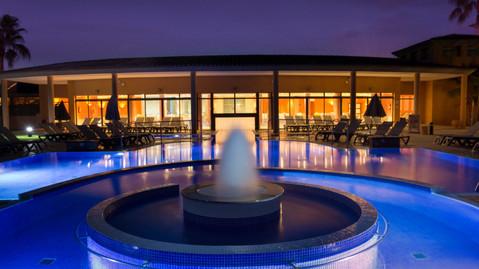 Son Antem pool at night
