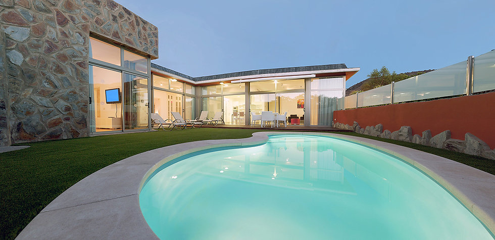 Anfi Opal Villa private pool