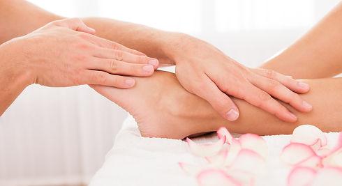 Hands and feet massage