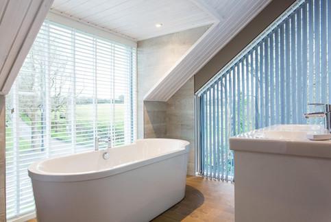 Stylish bathroom at Burn Park