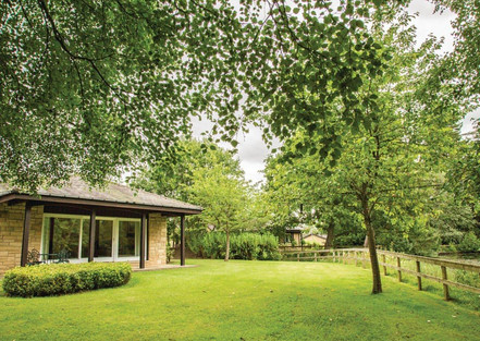 Lodges surrounded by nature