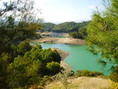 Lake at El Chorro