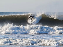 The bst surfing beaches close by