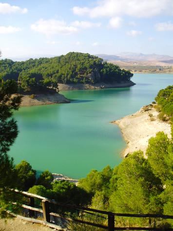 Lakes at El Chorro, Guadalhorce