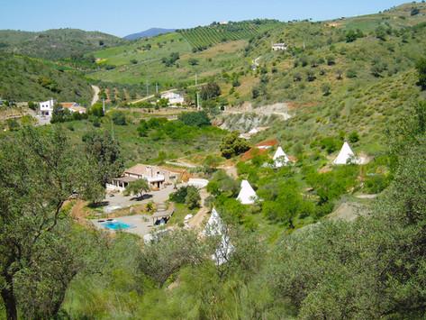 View of Valle de Vida
