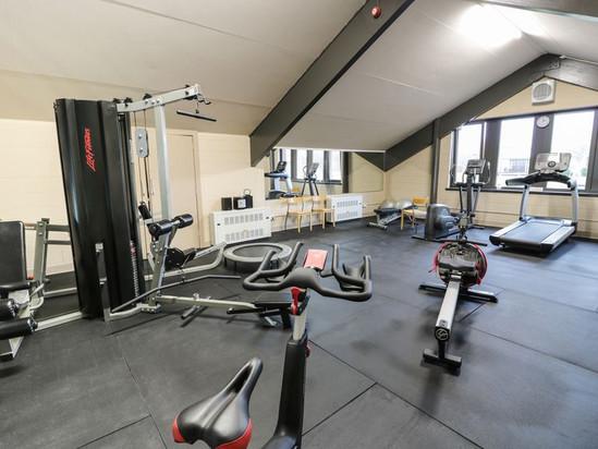Brunston Castle Resort well equipped gym