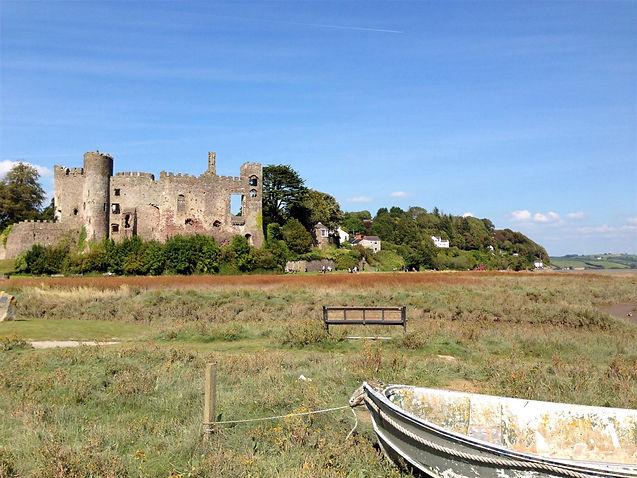 Welsh castle in ruins