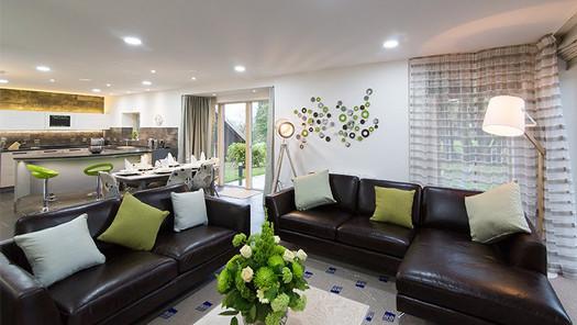 Light and stylish lounge