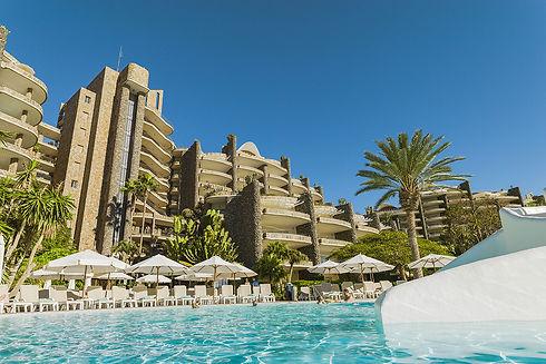 Anfi Beach Club pool at Las Palmas in Gran Canaria