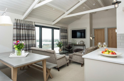 Kitchen and dining area Laugharne Park