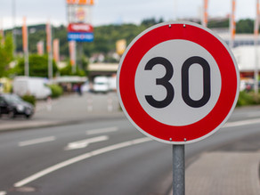 Changes in some SPEED LIMITS in Spain from 11th May