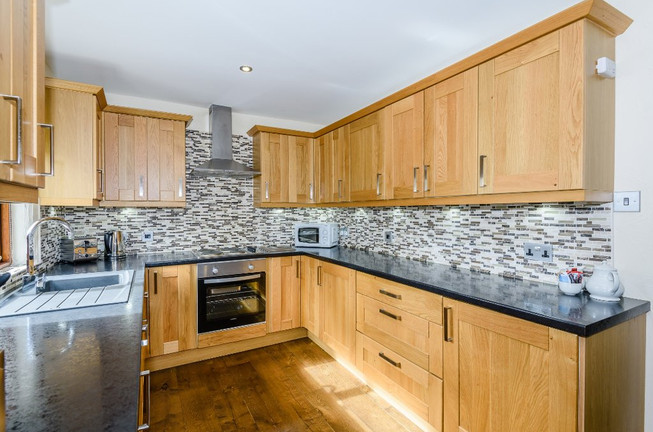 Traditional styled kitchen at Whitbarrow