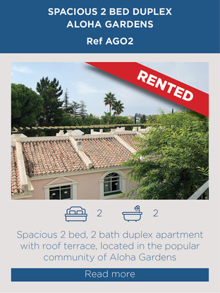 2 bed duplex for rent Aloha Gardens