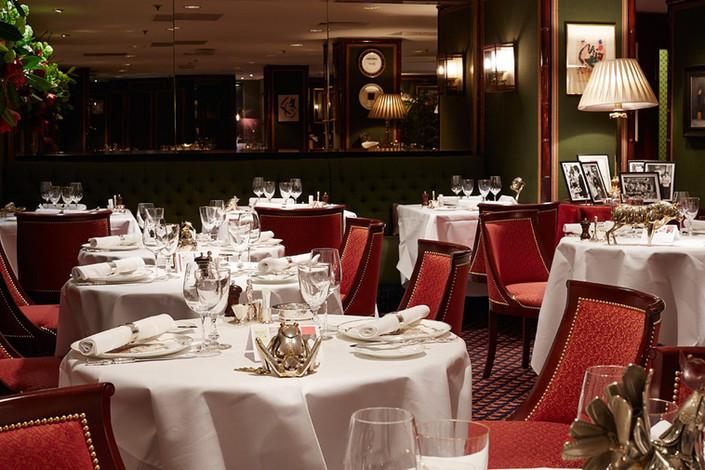 Dining in La Gavroche Mayfair London