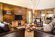 Spacious lounge area at Cameron House Lo