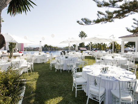 Luxury event villa in Marbella for weddings and corporate events