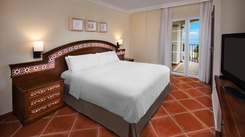 Traditionally styled double bedroom