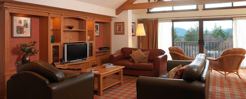 Traditional style at Craigendarroch Lodge