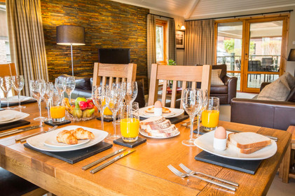 Cameron House Lodges breakfast