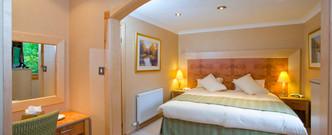 Light and bright bedroom at Craigendarroch