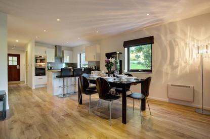 Spacious open plan living at Clowance Estate