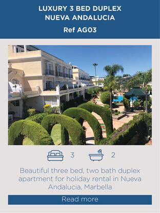 3 bed duplex Nueva Andalucia
