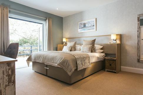 Large bedroom at Burn Park