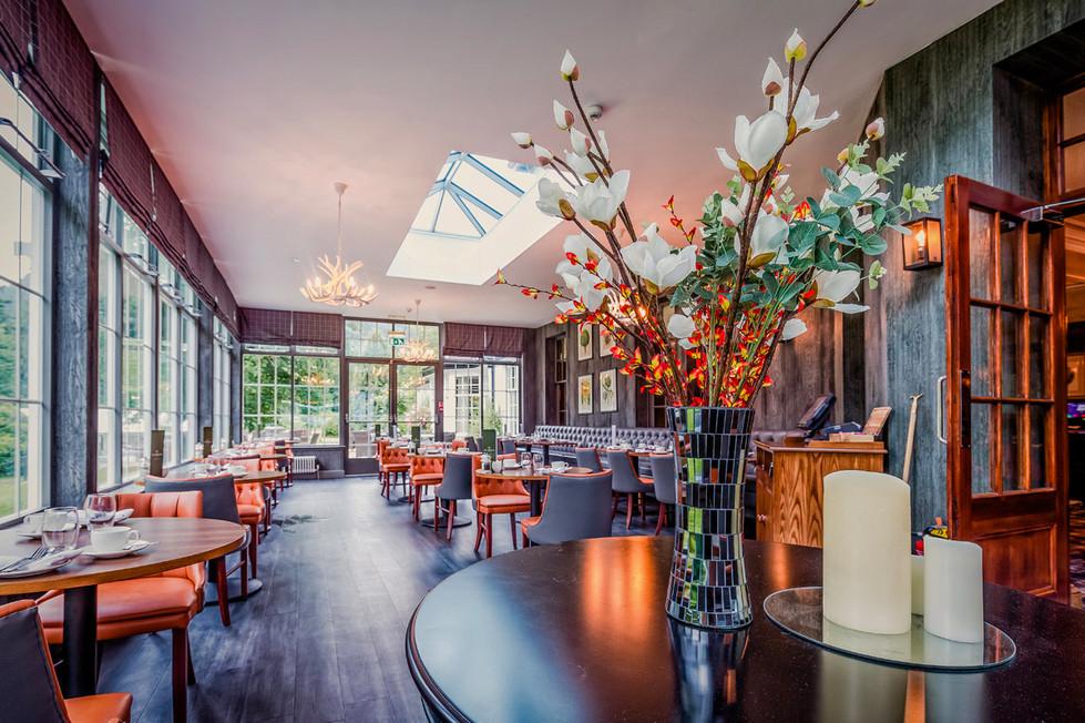Modern Restaurant at the Dunkeld House Hotel