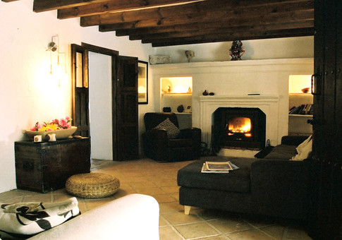 Cosy lounge area