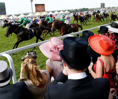 Ladies Day at Ascot Racecourse