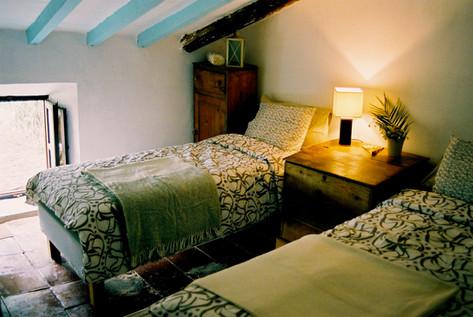 Stylish twin room