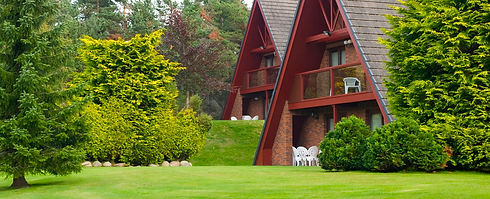 Lodges set in beautiful grounds in Aviemore