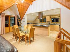 Kitchen diner st Slaley Hall Lodges