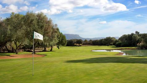 Golf course at Son Antem