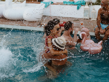 Karo & Marcin's Epic Pool Party